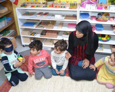 دورة منتسوري / اللغة العربية من سن 3-6 سنوات